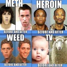 So funny!...Well, drug addiction isn't really funny at all, but those last two are awesome.