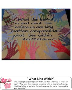 cute handprint art. Try on canvas with family handprints. Family word in middle.