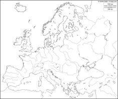 mapa FISICO EUROPA - Busca de Google