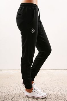 Icon Track Pant Black White