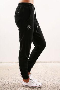 Icon Track Pant Black White