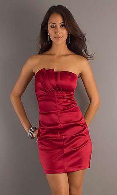 Vestidos cortos ceñidos al cuerpo color rojo  http://vestidoparafiesta.com/vestidos-cortos-cenidos-al-cuerpo-color-rojo/