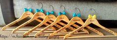 Personalised wedding hangers For Sale in Bristol | Preloved