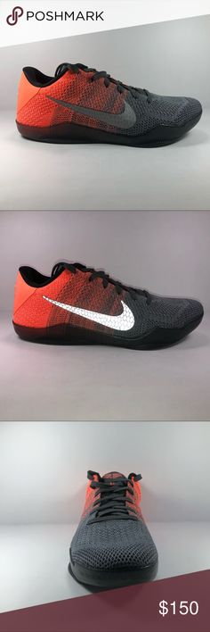 size 40 3d4d2 5d507 Nike Kobe 11 Elite Low Easter Gray  Mango Sneaker New Without Box See  Pictures For
