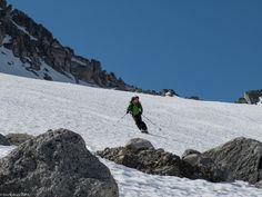 Eine Sommerskitour auf der Göscheneralp - Der Schnee ist gar nicht übel zum Fahren