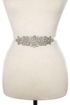Rhinestone floral detailed slash belt handmade crystal belt – DIOR BELLA Sparkly Belts, Silver Belts, Crystal Belt, Belts For Women, Bridal Accessories, Fashion Boots, Fancy, Womens Fashion, Diy Fashion