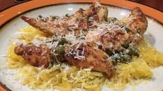 This is a quick and easy recipe for chicken piccata, an Italian classic with a sauce of capers, garlic, lemon juice, and white wine.