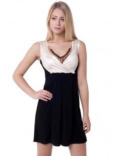 Womens Fashion Multicone Necklace Dress  #fashionwholesaler #ladiesfashion #multiconenecklece #dress