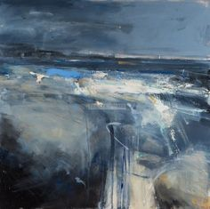 Hannah Woodman is a contemporary British landscape painter. Based in Cornwall, she works from her studio at Gwithian and exhibits regularly across the country. Abstract Landscape Painting, Seascape Paintings, Landscape Art, Landscape Paintings, Abstract Art, Contemporary Landscape, Contemporary Paintings, Modern Contemporary, Land Scape