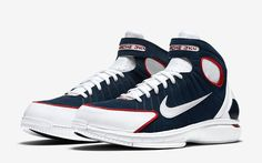 Official Look At The Nike Air Zoom Huarache 2K4 In Midnight Navy