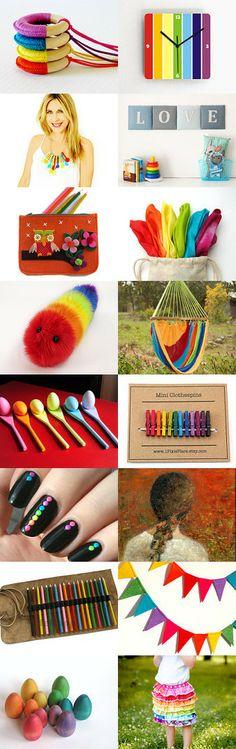 Follow The Rainbow by selectedeyewear on Etsy--Pinned with TreasuryPin.com