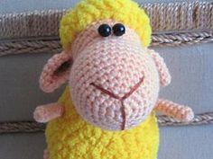Вяжем маленькую новогоднюю овечку - Ярмарка Мастеров - ручная работа, handmade