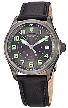 Men's Wrist Watches - Victorinox Mens 241518 Infantry Analog Display Swiss Automatic Black Watch *** Find out more about the great product at the image link. (This is an Amazon affiliate link)