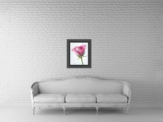 16x20 Pink Rose Floral Print Fine Art Photography by Crystal Gayle Photography