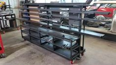 At the Welding Tips and Tricks forum, we're all about helping each other out with TIG, MIG, and Stick questions and projects. Garage Workshop Organization, Garage Tool Storage, Garage Tools, Garage Ideas, Steel Storage Rack, Steel Racks, Metal Rack, Welding Shop, Welding Tips
