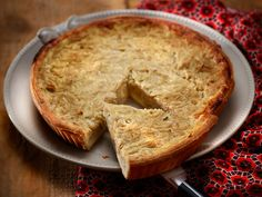 Découvrez la recette Tarte à l'oignon rapide sur cuisineactuelle.fr.