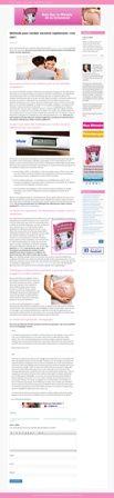 La méthode pour tomber enceinte rapidement la plus efficace et la plus recommandée : c'est la solution ultime pour tous les couples qui souffrent de l'infer.Visit http://lemiracledelagrossesseguide.com/methode-pour-tomber-enceinte-rapidement/