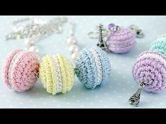 Как связать французские пирожные Macarons - Ярмарка Мастеров - ручная работа, handmade