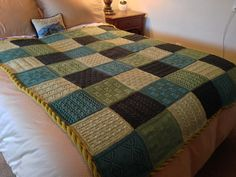 Ravelry: mcmaori's Pure Wool Worsted Mystery Afghan KAL