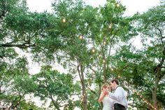 under the string lights | Hunter McRae #wedding