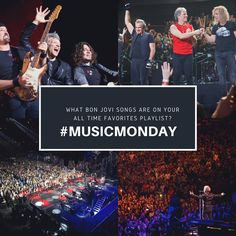 "3,555 Likes, 317 Comments - Bon Jovi (@bonjovi) on Instagram: ""If you created an All Time Favorites playlist for #MusicMonday, what Bon Jovi songs would be on it?…"""