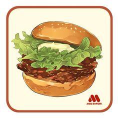 食べ物を描くことがすき、これからもたくさん書きます〜
