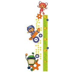 Team Umizoomi Growth Chart Peel and Stick Wall Decal       See All Roommates Team Umizoomi Merchandise  See All Team Umizoomi Wall Stickers  See All Roommates Wall Stickers  See All Team Umizoomi Items  See All Roommates Products  See All Wall Stickers  Coming in January 2013