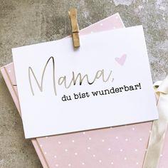 Mama, du bist wunderbar!