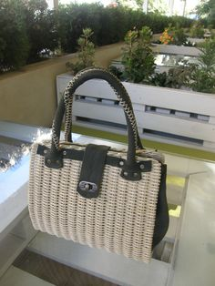 VK is the largest European social network with more than 100 million active users. Sisal, Willow Weaving, Newspaper Basket, Basket Bag, Handmade Bags, Wicker Baskets, Bag Making, Straw Bag, Purses And Bags