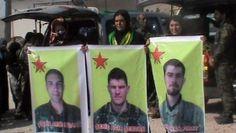 3 ABD vatandaşı YPG'linin cenazesi teslim edildi