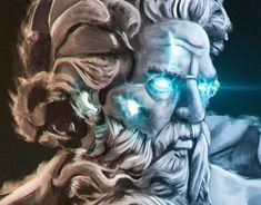 New Work, Digital Art, Lion Sculpture, Behance, Photoshop, Profile, Graphic Design, Statue, Tattoos