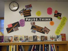 Supporting Pause.Think (anti-bullying/character dev/positivity) 2011-2012 by HM @wtwlib