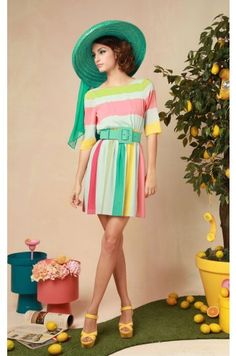 sherbert stripes from alice and olivia...    If only I had $400 lying around
