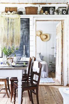 Un été suédois à la cabane en bois