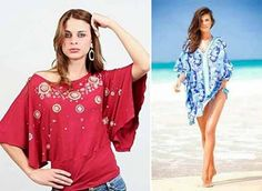 blusas y túnicas patrones simples