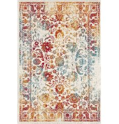 Red/Yellow/Blue Rug Latitude Vive Rug size: Rectangular 80 x Design Oriental, Style Oriental, Yellow Rug, Grey And White Rug, Motif Art Deco, Duck Egg Blue Rugs, Carpets Online, Vintage Patterns, Handmade Rugs