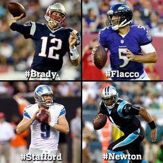 All outstanding in their rookie seasons!