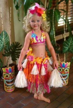 National Glitz Pageant Swimwear Hawaiian OOC 4/5