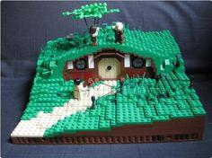 Hobbit Hole | ReBrick | From LEGO Fan To LEGO Fan