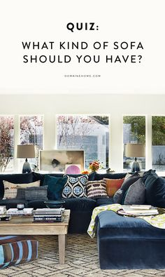 Quiz: What Kind of Sofa Should You Really Have?