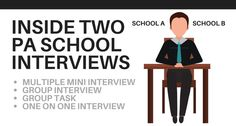 A Look Inside Two PA School Interviews http://www.thepalife.com/pa-school-interview/ #PA, #Physicianassistant #Interview