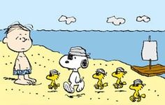 Snoopy, Woodstock and Friends as Pirates