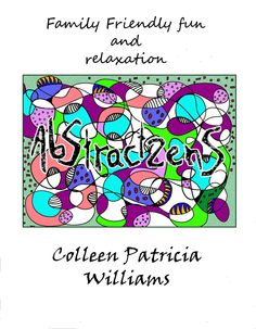 Abstractzens Digital Downloadable Coloring Book By ColleenPatricia On Etsy