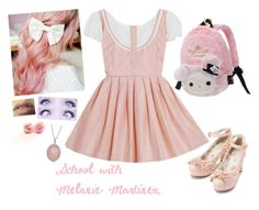 """""""School with my Queen Melanie Martinez"""" by the-ravenclaw-princes ❤ liked on Polyvore featuring Bling Jewelry"""