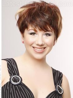 Rockin' Short-pixie-hairstyle - Just did this and it is ADORABLE!!!