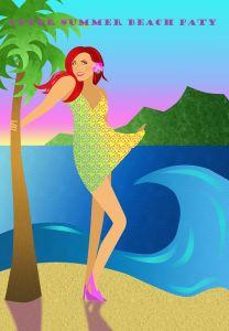 Afer Summer Beach Party bij De Roze Muggen.