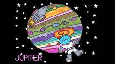 En este cuento viajamos con Lupito, el astronauta.