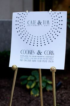 Cookies & Corks  wine and cookies? who wouldn't love that!