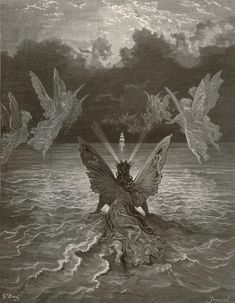 """It ceased yet still the sails made on..."" By Gustave Dore (Rime of the Ancient Mariner)"