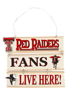 Red Raider FANS live here!